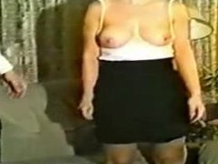 submissive woman being dominated
