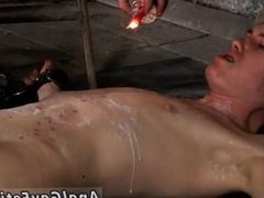 Nude boy hand work solo gay sex movies first time His boner is caged and
