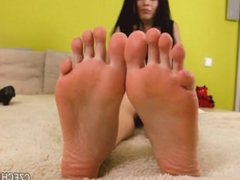 beauty foot soles tease
