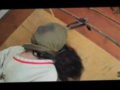 Caroline straitjacket scene #1
