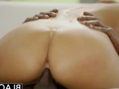 August Ames Gets An Interracial Creampie!