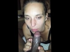 Coffee and cock and always black for her