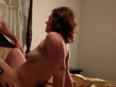 Wife Amy has hardcore fuck session with neighbor