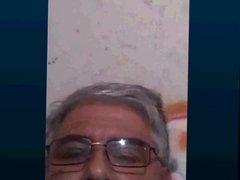 argentinian grandpa wanking and cumming