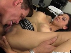 WANKZ - Slutty MILF Seduces Her New Employee!