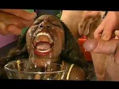 Ebony gets huge facial
