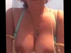 Chichona en Webcam tetas grandes naturales de la vecina infiel mexicana