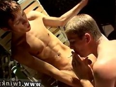 Free gay football players porn first time 4-Way Smoke Orgy!