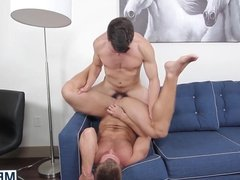 Hard sex between jason and London muscle guys with big dick