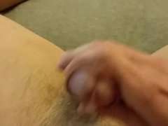 POV THROBBING CUMSHOT WHILE MASTURBATING