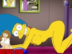 Cartoon Porn Simpsons Porn mom masturbate