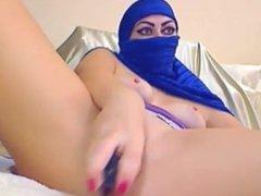 AsianSexPorno.Com - Arab cam girl masturbate