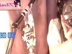 Kawai japanesse girl burp