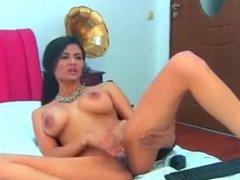 Brunette milf masturbating webcam  CAMPUSSY.ORG  FOR MORE!