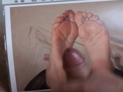 My cumshot on feet picture 3