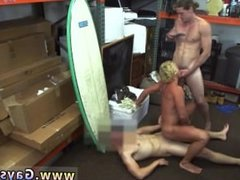 Hunk vs gay twink mobile Blonde muscle surfer boy needs cash