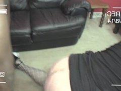 Married BBC fucks cum swallowing white cougar I met on Craigslist