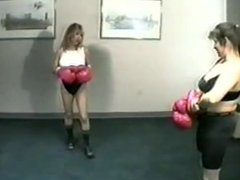 Sugar Ray Rene vs Paradise Topless Boxing