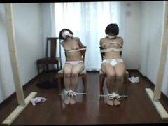 Japanese nude bondage