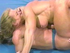 FBB nude wrestling scene 5 who winns?