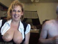 Big tits blonde mom webcam chat