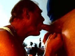 Dan loves when married men drop of a load to swallow love his uncut cock