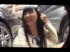 AsianSexPorno.Com - Japanese teen masturbate in a parking lot