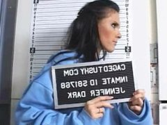Girl was arrested for prostitution and brought to jail to be strip searched