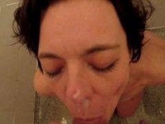 Crazy Dutch milf Shirley loved the golden shower