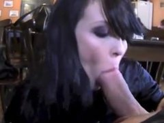 sucking dick with no fear in public