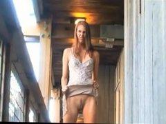 Kara Nirvana naked boardwalk