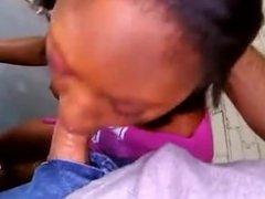 Ebony cutie has som anal fun