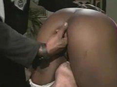 Big Tits Black and White Gangbang