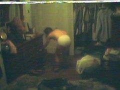MILF-Anne topless on hidden cam
