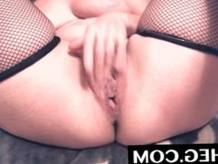 MILF with Big TITS Teases a Hot Younger Man on Webcam while he Masturbates