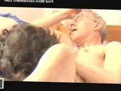 Grandpa_s Big Cock Attractive Mature - Morning Blowjob