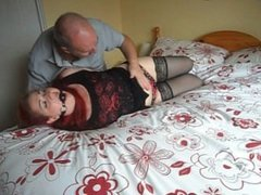 bed tied redhead