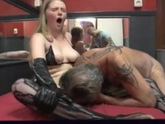 Young whore fucked by tattooed old man