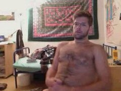 Hot guy caught jerking off