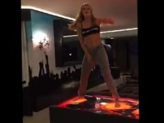 Bella Thorne Dancing Snapchat February 2016