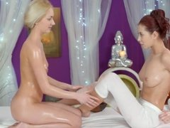 Daydreamng with a Blonde and a Brunette