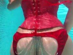 Girl Breast Huge Being Fucked at Pool