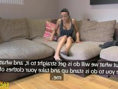 ebony chick in casting couch fuck