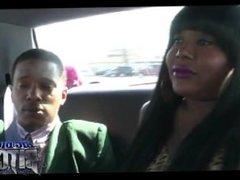 Ebony BBW Shemale Fucked #1