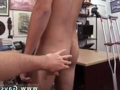 Wet anal gay sex photos Dude moans like a lady!