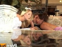 Wives Tales Virgin Anal Bride + Bridesmaid Gaped for Analovers
