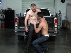 Nick Prescott & Mike DeMarko hard at work!