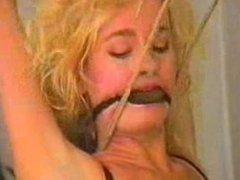 Sexy women tight bondage fetish play long video