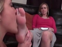 Bible promotion turns into foot worship