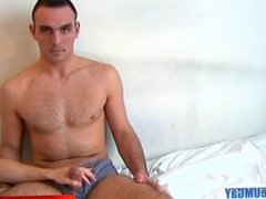 Full video: A innocent bi-guy gets serviced his big cock by a guy!
